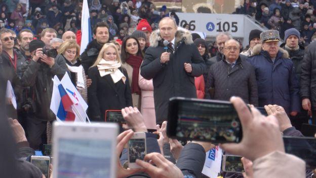 предвыборный митинг