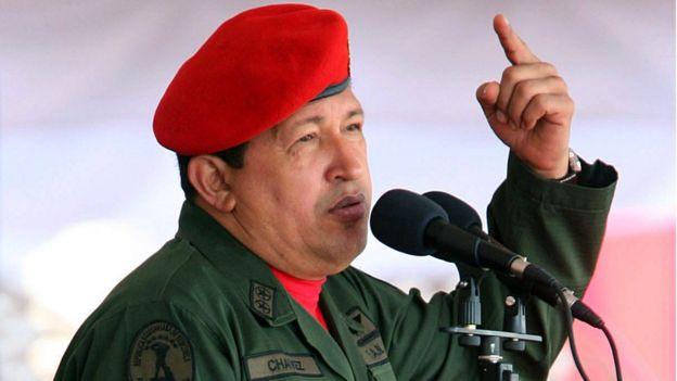 Hugo Chávez, expresidente de Venezuela, en una foto de 2007.