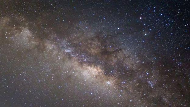 Fotografía de la Vía Láctea