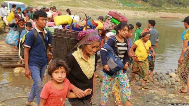 संघर्ष के कारण 1,20,000 लोग विस्थापित कर चुके हैं