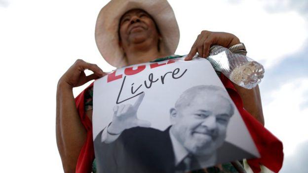 Simpatizante de Lula