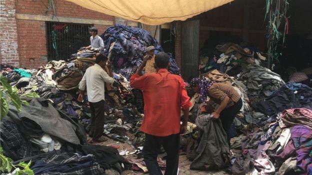 clothing sorting