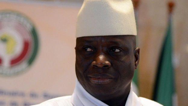 Yahya Jammeh ameitawala Gambia kwa miaka 22