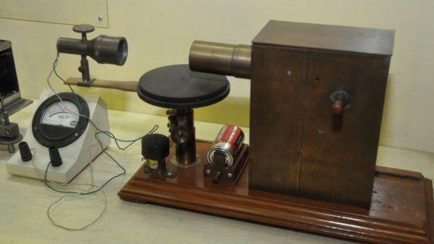 Uno de los inventos de Bose.