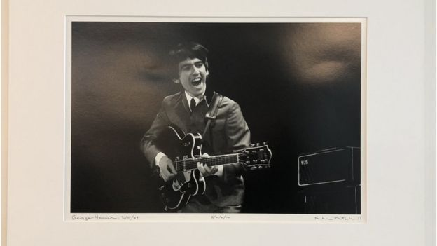 Photograph of George Harrison