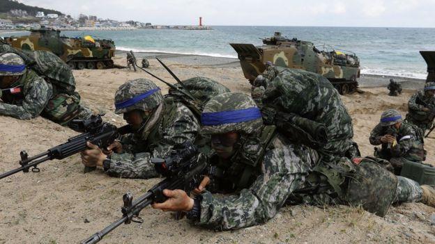 美韓聯合軍演