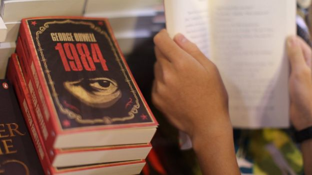 Libro 1984 de George Orwell