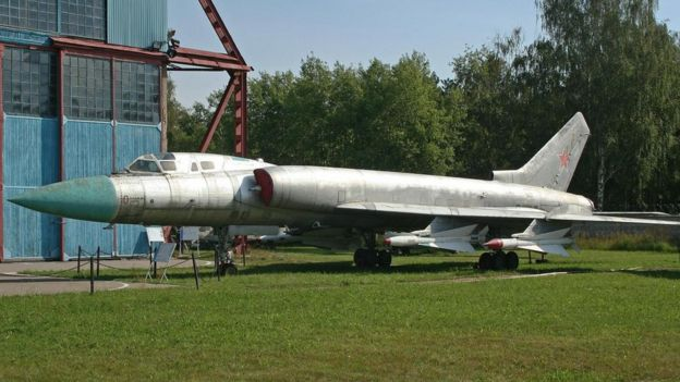 Un avión de combate soviético