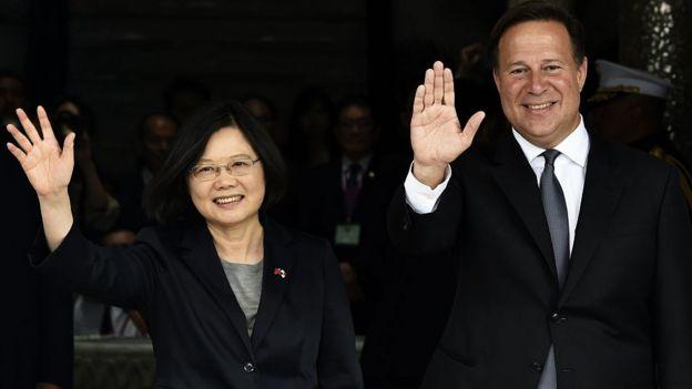Panama Tayvan'la diplomatik ilişkisini kesti