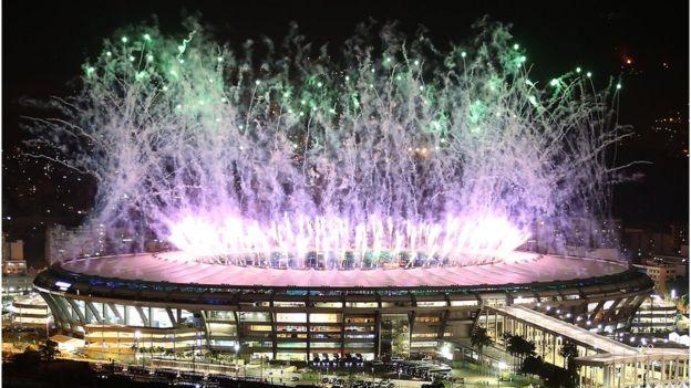 Cerimônia de abertura da Olimpíada