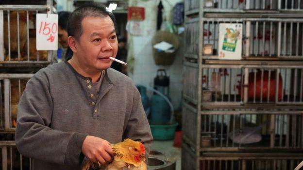 Smoker in China