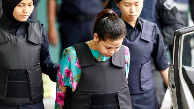 Siti Aisyah, Malaysia, Kim Jong-nam. Korea Utara