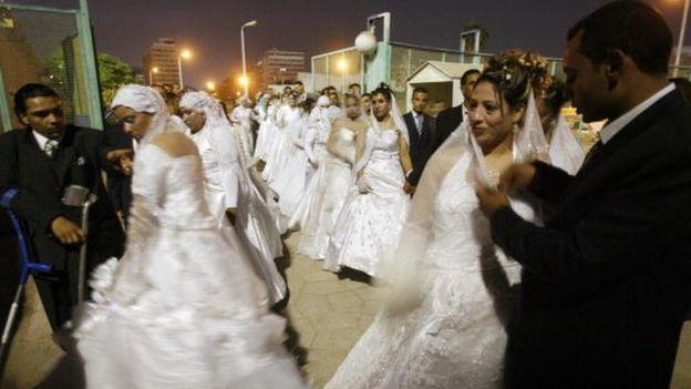 حفلات الأعراس في مصر تتسم بالحيوية