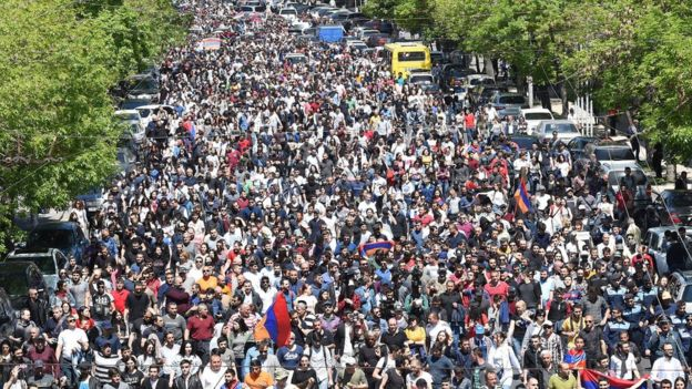 Пашинян: с 29-го апреля акции гражданского неповиновения стартуют с новой силой