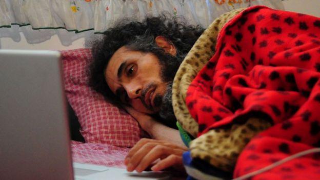 Jihad Diyab en huelga de hambre