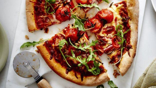 Pizza serangga