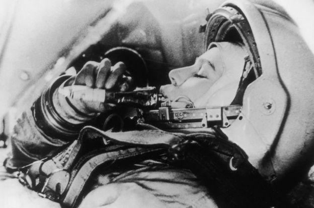 La ingeniera rusa Valentina Tereshkova.