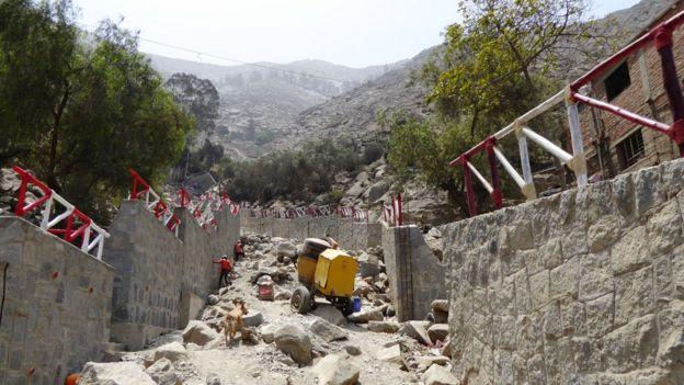 The top of Grau Street in Moyopampa