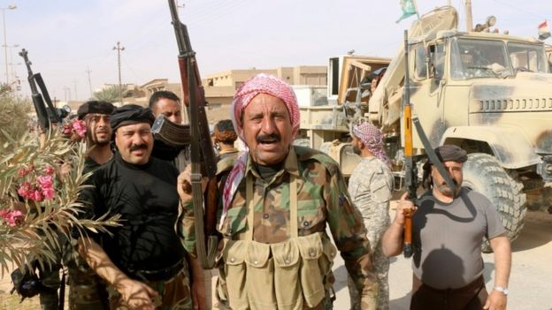 Iraqi forces when they recaptured Rawa last month.