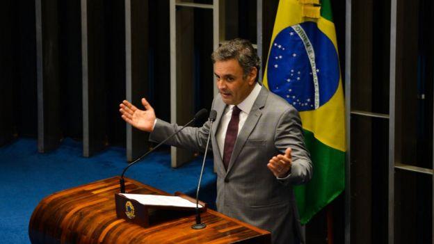 Aécio Neves em 2014