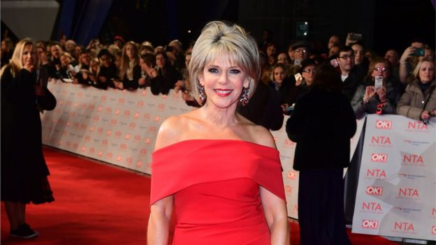 Ruth Langsford Strictly NTAs