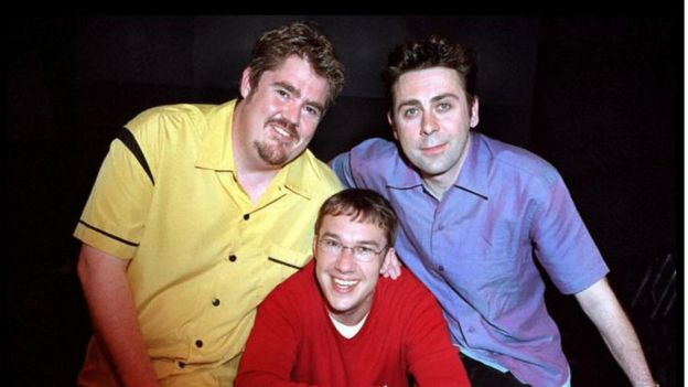 Phill Jupitus, Mark Lemarr and Sean Hughes