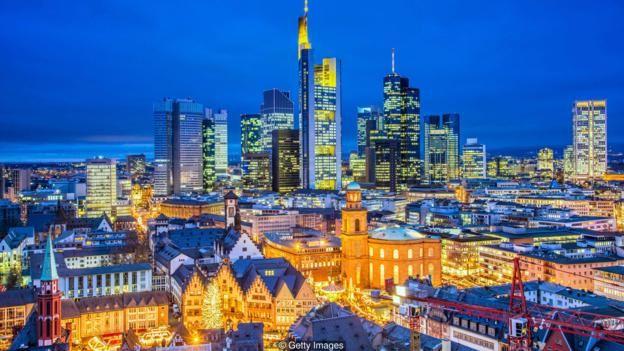 Ở Frankfurt nhiều người chọn nơi ở gần văn phòng làm việc