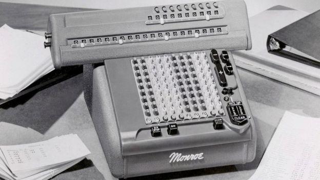 Una calculadora Monroe