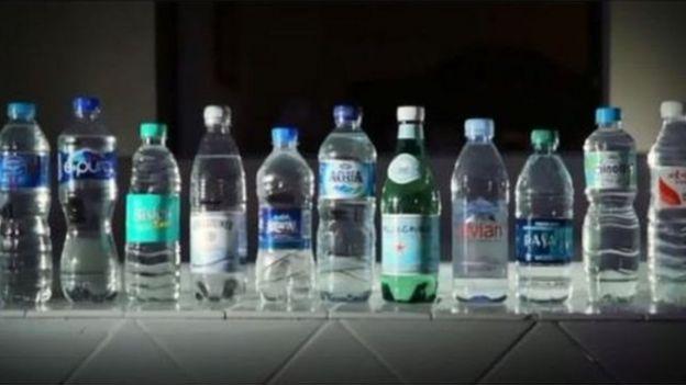 Ada 11 merk air mineral yang diteliti di State University of New York