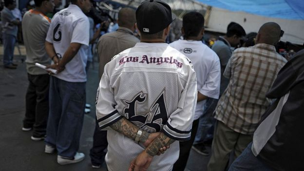 Gangue foi formada em Los Angeles