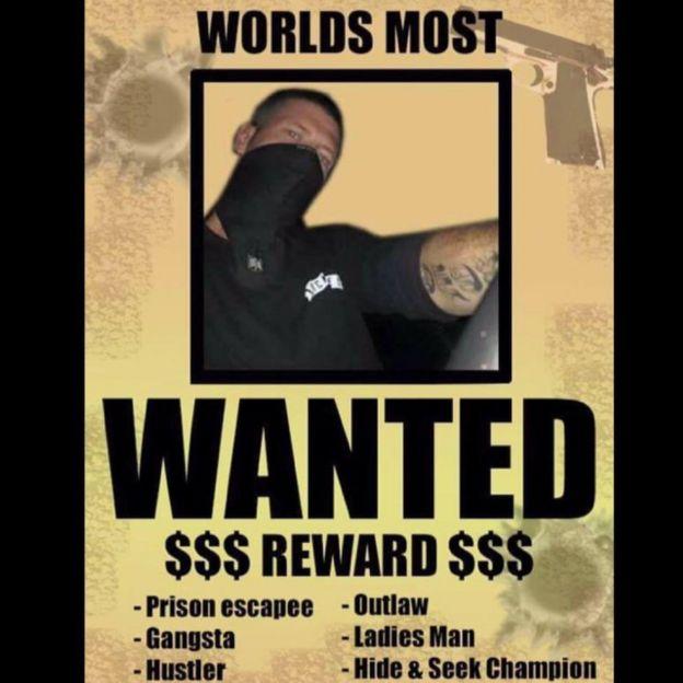97474847 20376124 10208866007759797 6168425761845962523 n 1 - O fugitivo que usa o Facebook para se gabar após escapar da prisão