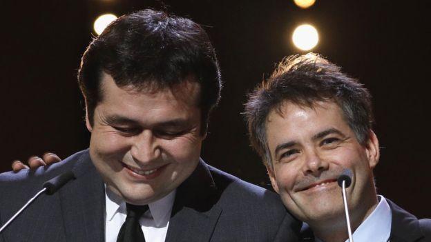 Gonzalo Maza y Sebastián Lelio