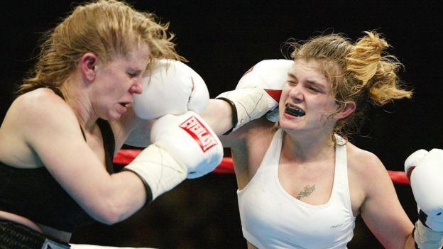 Tonya Harding y Samantha Browning