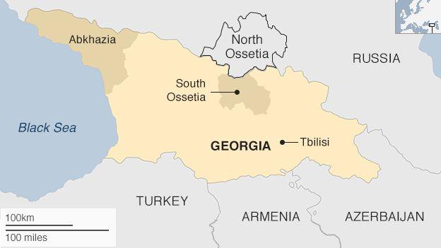 Worksheet. Georgians mourn Russian land grab in South Ossetia war  BBC News