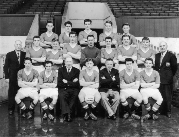 El Manchester United dirigido por Matt Busbt de 1957.