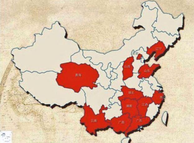 Các khu vực có tỉ lệ ngoại tình cao nhất tại Trung Quốc theo tờ People's Daily