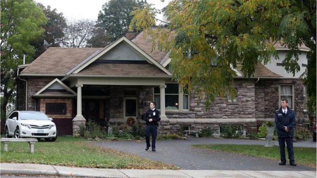 Casa en Ontario donde Boyle y su mujer residen tras ser liberados