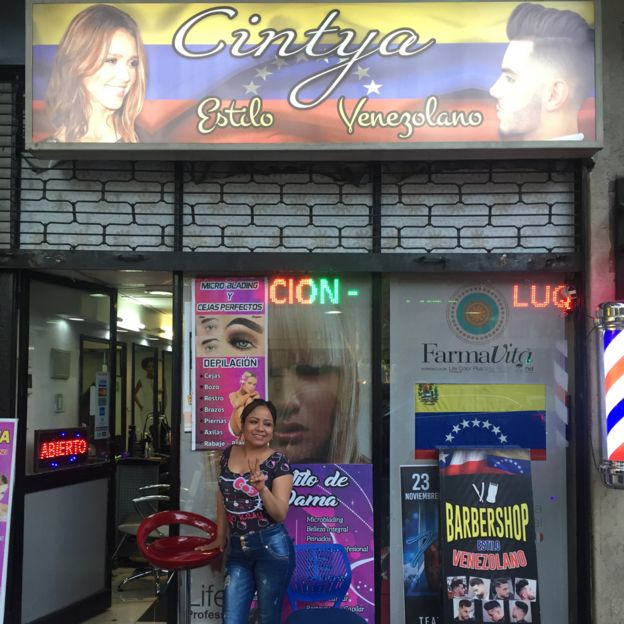 Peluqueria venezolana en Santiago
