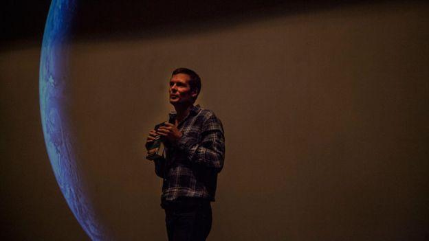 Christophe Galfard en el Hay Festival Querétaro.