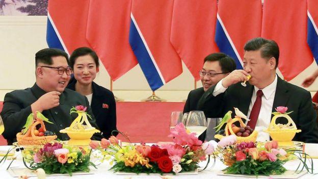 Kim Jong Un ve Şi Jinping