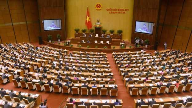 Vietnam national assembly, 22nd May 2017