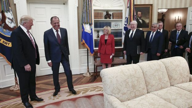 Reunión en la Casa Blanca entre EE.UU. y Rusia