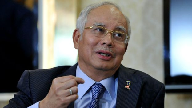Malaysian Prime Minister Najib Razak speaks at a news conference in Kuala Lumpur on 7 May 2013.