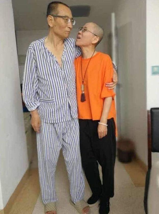 刘晓波与刘霞