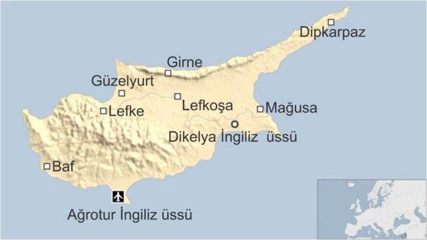 Kıbrıs'taki İngiliz üsleri