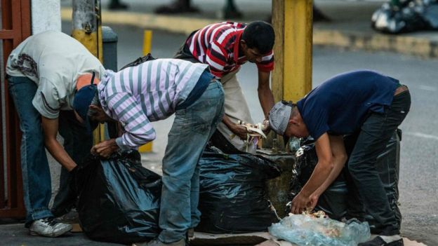 کاهش درآمد نفتی ونزوئلا به کمبود مواد غذایی در این کشور دامن زده است