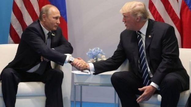 Putin və Donald