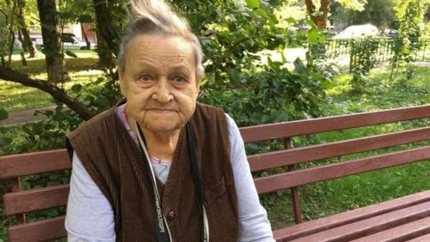 98歲的維拉表示,