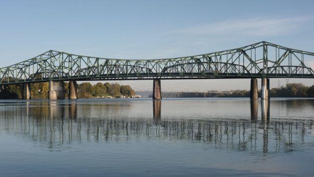 Vista del rio Ohio.