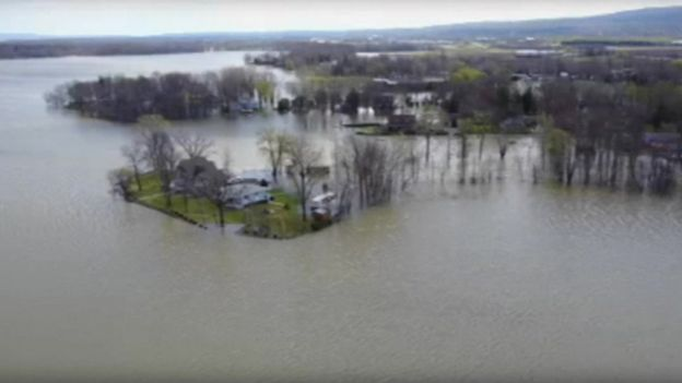As Lake Ontario Water levels continue to rise, neighbors fearful of more flooding